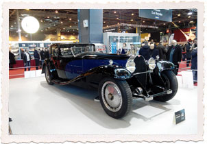 Bugatti Royale Type 41 Coupé Napoléon - Retromobile 2015