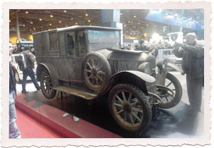 Peugeot 163 Fourgonette 1922 - Retromobile 2015